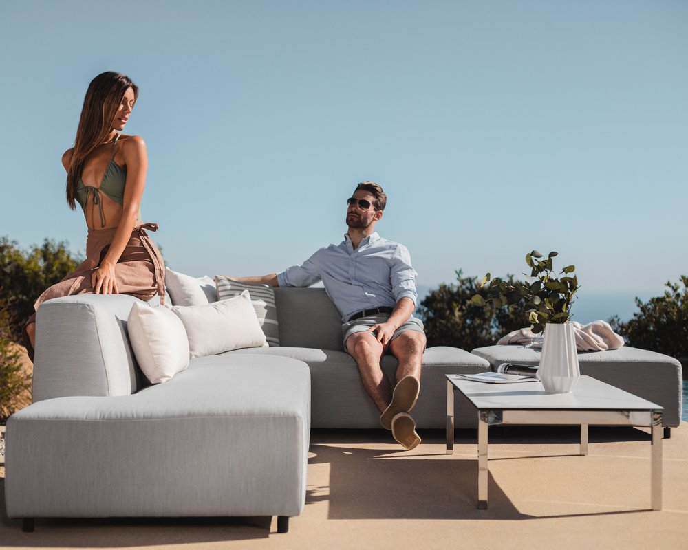 Mika Outdoor Right Arm Chaise