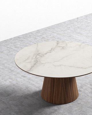 "Winston Dining Table - 60"" European Ceramic"
