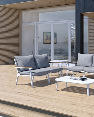 Linnea Outdoor Loveseat