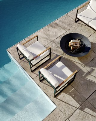 Louis Outdoor Armchair