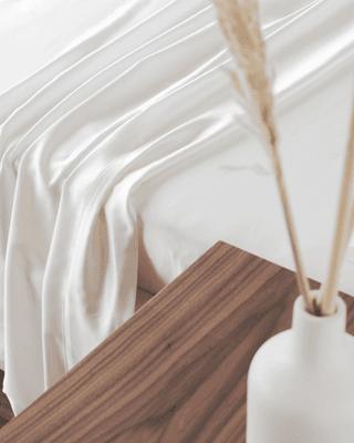 Mulberry Charmeuse Silk Flat Sheet